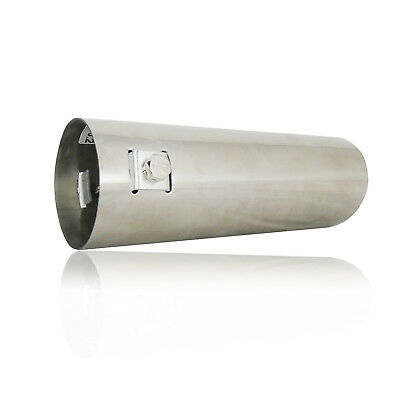 30-50mm Sport Chrome Exhaust Pipe Tip Trim End Stainles Steel Cover Finisher New