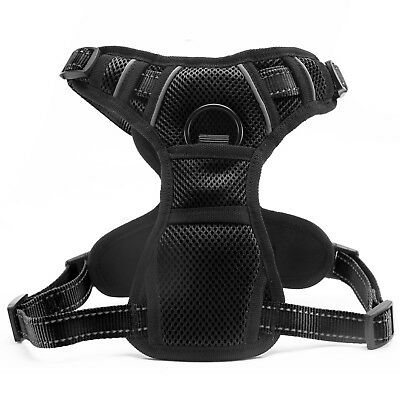 Dog Harness No-Pull Pet Harness Vest Adjustable Outdoor Reflective Easy Control 11