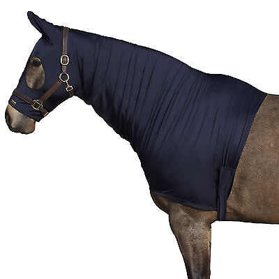 Snuggy Hoods Shiny Show Stretch Lycra Horse Hoods-8 Sizes-3 Colours-Zip/Pull On 3