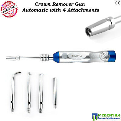 Crown Remover Gun Automatic For Dental Crowns Removal With Four Attachments Lab 2