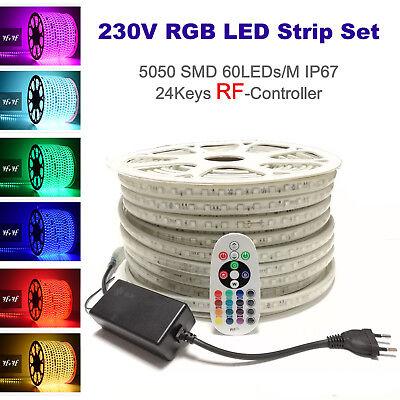 SET 5050 LED Streifen GRÜN inkl Trafo