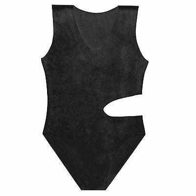 Latexbody aus Gummi in schwarz, neu original verpackt, Einheitsgröße