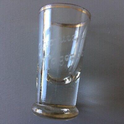 Altes Tablet mit 18 Gläsern (davon Ist 1 Glas Eigentlich Eine Vase) Ohne Tablett 7