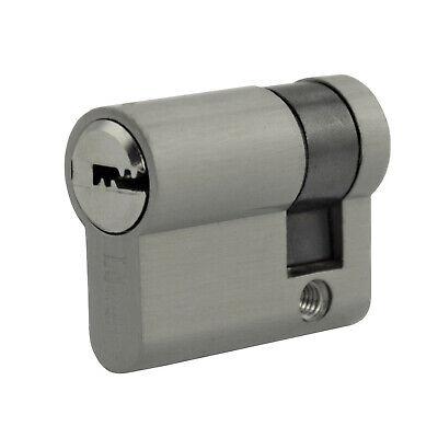 2x gleichschliessend Knauf Profil Tür Zylinder Schloss kombinieren +5 Schlüssel 7