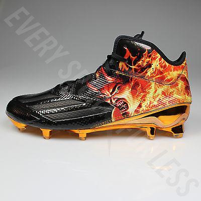 Adidas Adizero 5 Star 5.0 UNCAGED Football Lax Cleats AQ7811 Devil(NEW)List@$130