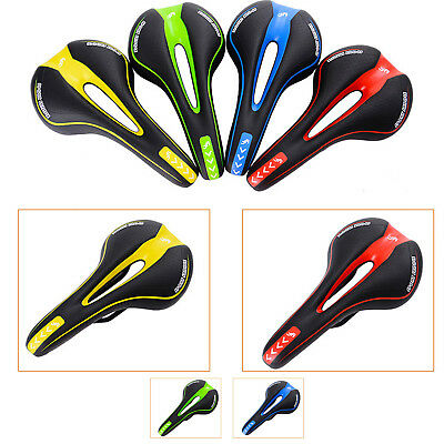 Bicycle Bike Cycle MTB Saddle Road Mountain Sports Soft Cushion Gel Pad Seat Red 2