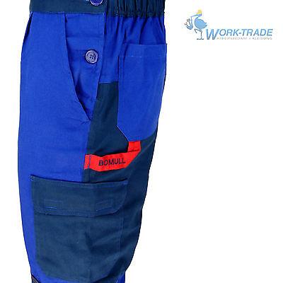 Arbeitslatzhose Blau 100% Baumwolle Schutzkleidung Arbeitshose Gr. 46 - 62