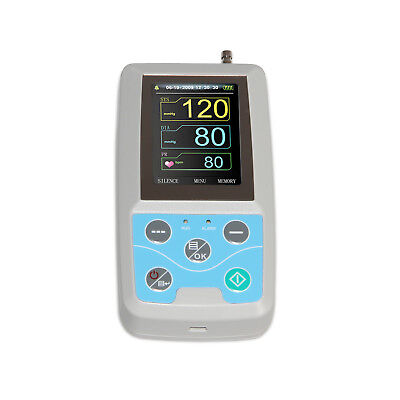 USA shipping Ambulatory Blood Pressure Monitor+Software 24h NIBP Holter ABPM50 3