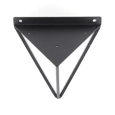 2X Shelf Brackets Metal Prism Mount Floating Wall Mount Support Leg UK 8