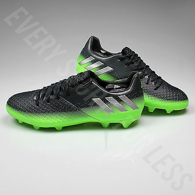 a1d85f4a3f8 ... Adidas Messi 16.2 FG Soccer Cleats S79630 - Gray Silver Green (NEW)