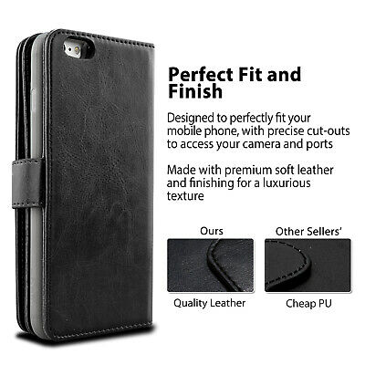 For iPhone 11 Pro XS MAX XR 8 7 Plus 6s Wallet Magnetic Flip Leather Case Cover 5