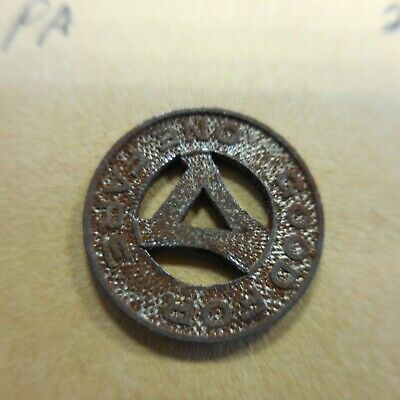 PA25E Ambridge Motor Coach Company transit token Pennsylvania