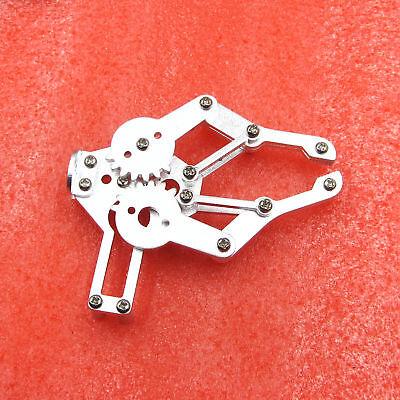 ROT3U 6DOF Aluminium Robot Arm Mechanical Robotic Clamp Claw for Arduino-Black 5