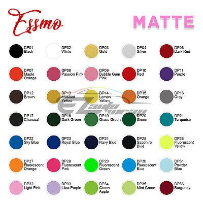 "Essmo™ Matte Solid Heat Transfer Vinyl HTV T-Shirt 20"" Heat Press Easy To Weed 2"