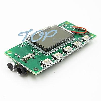 DSP PLL 87-108MHZ Digital Wireless Microphone Stereo FM Transmitter Module