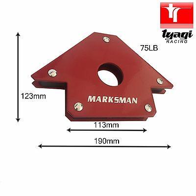 Magnetic 25//50//75Lb Arrow Welding Holder Clamp 3 Angle Arc Welder Soldering Tool