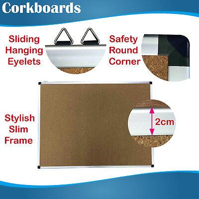 Premium Corkboards Noticeboards corkboard pinboard pinboards cork board 90x120cm 2