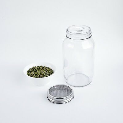 Kenley Seed Sprouter Germinator Sprouting Kit with Mason Jars Lids & Stands 4