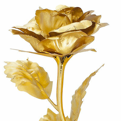 luxus hochzeit geschenk set goldene rose liebesschloss. Black Bedroom Furniture Sets. Home Design Ideas
