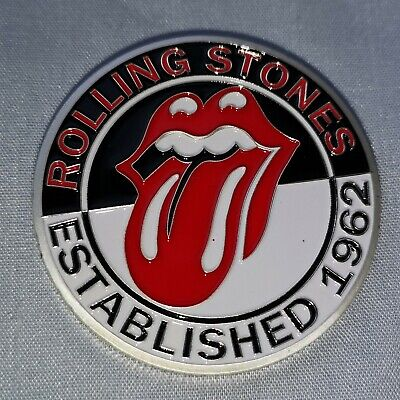 Rolling Stones Silver Coin Rock n Roll Pop Music Band Songs Rockers 60s Retro UK 5