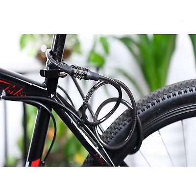 Candado Para Bicicleta Cadena De Seguridad Combinacion Antirrobo 1.2 Metro X 8Mm 2