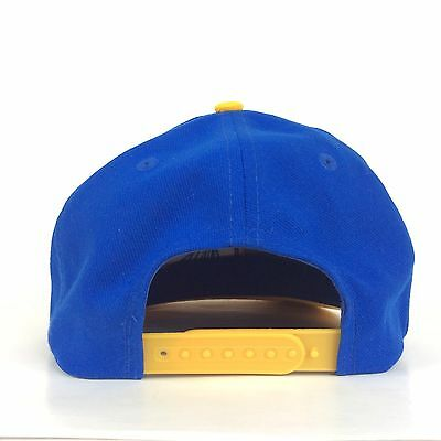 d96216b24 ... NBA Golden State Warriors Blue Baseball Cap Hat Small Adult Size  Snapback Poly 4
