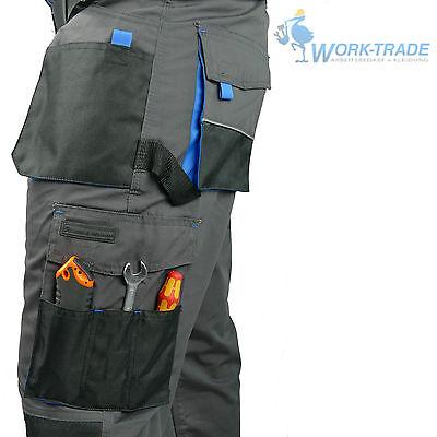 Arbeitshose Bundhose Arbeitskleidung Hose Herren Grau Schwarz Blau Gr. 46-62 7