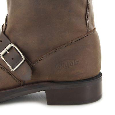 Buffalo Damen B Herren Boots Und Stiefel Brown 1808 8nPkNZ0XwO