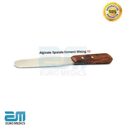 Dental Waxing Knives Plaster Alginate Spatula Cement Mixing molding  SET X2  CE 2