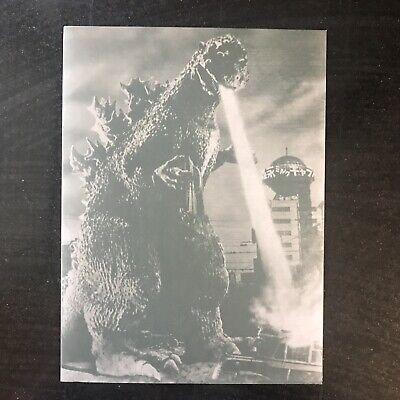 GODZILLA FINAL BOX - COMPLETE SET!!! DVD Set, Poster Book, Bust, Display Stand 8
