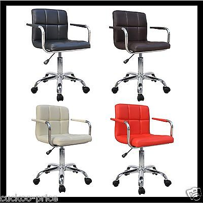 Quality New Design Swivel Pu Leather Office Furnitue Computer Desk Office Chair