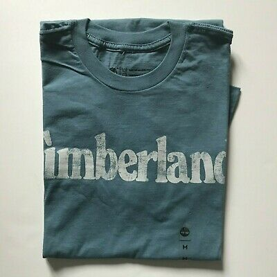 NWT Timberland Men's Faded Linear Logo Short Sleeve Crew Neck T Shirt A11GY NEW 5
