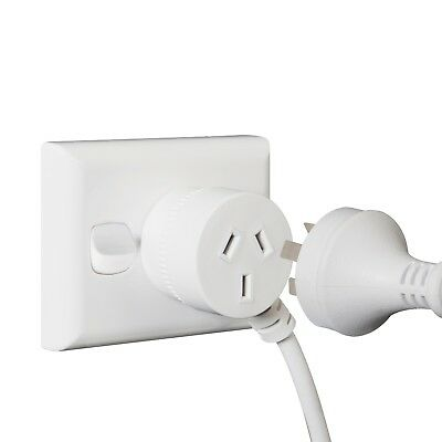 Extension Cord Piggyback Triple Outlet Australian 240V Power Lead AU 3-Pin 10amp