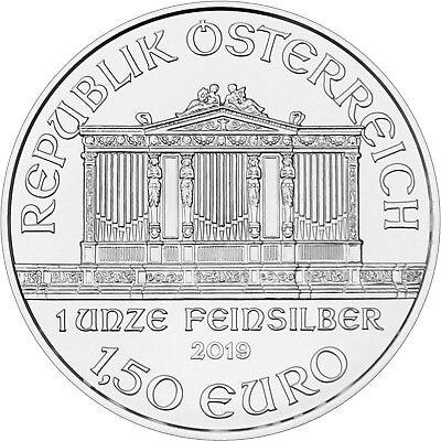 2019 Austria Silver Philharmonic 1oz BU