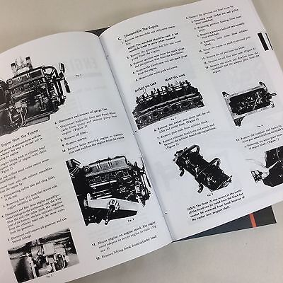 ford naa golden jubilee tractor service shop repair manual engine rh picclick com ford naa parts manual ford naa owners manual