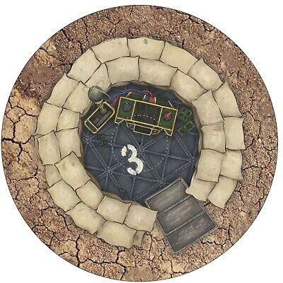 "Warhammer 12/""/&6/"" 40K Age of Sigmar Neoprene Objective Markers"