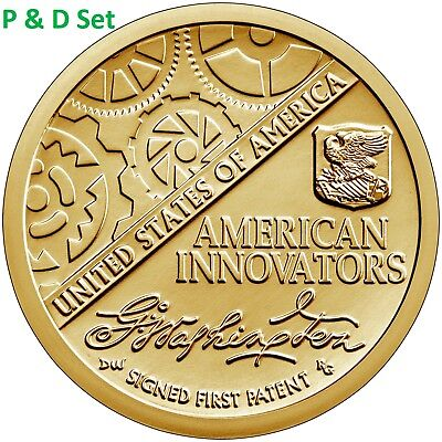 2018 PD Pos A&B  4 Coin $1 American Innovation Set - Introductory Coin 7