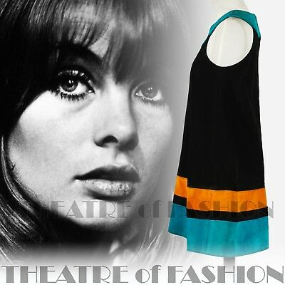 DRESS 60s SUEDE LEATHER VINTAGE OUTSTANDING ART ICONIC RARE LIKE COURRÈGES GOGO 5