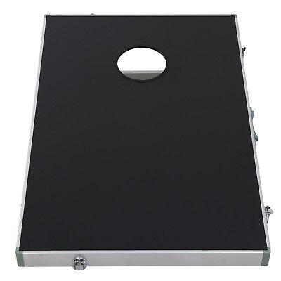 CornHole Bean Bag Toss Game Set Aluminum Frame Portable Design W/ Carrying Case 6