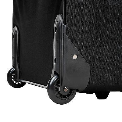 Conjunto de 4 Maletas Viaje Juego Set de maleta bolsa Trolley ruedas Negro Nuevo 7