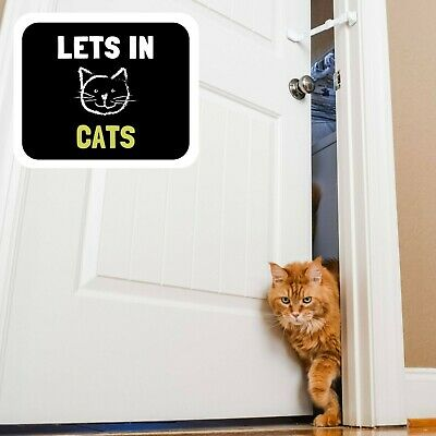 Door Buddy® Child Proof Door Latch | Keeps Baby Out | Lets Cats In. (Caramel) 3