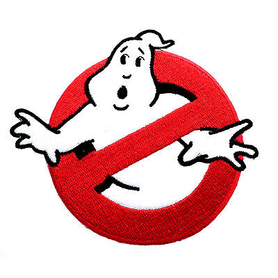 Ghostbusters Movies No Ghosts Logo Embroidered Iron/Sew On Patch 3""