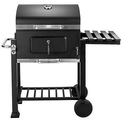 BBQ Griglia a carbonella barbecue giardino legna affumicatoio 115x65x107 3