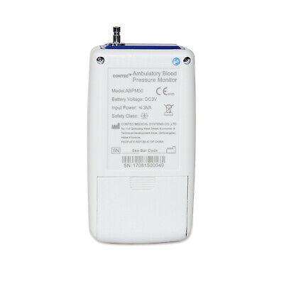 CONTEC ABPM50 Ambulatory Blood Pressure Monitor, PC Software,Adult cuff USA FDA 4