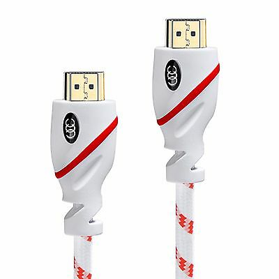 Ultra Clarity High Speed HDMI Cable 4K 60Hz - Computer HDR Video XBOX to TV  Lot