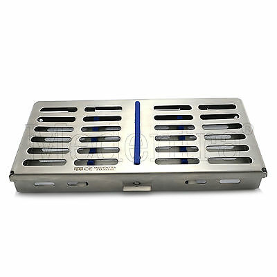 MEDENTRA® Stainless Tray Cassette for 7 Pcs Instruments Surgical Dental Labor CE