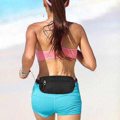 Slim Design Bumbag RFID Running Belt Water-proof Adjustable Waist Bag Travelling 12
