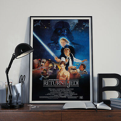 Star Wars Trilogy Film Poster Collection A4 & A3 5