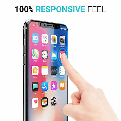 Fits For iPhone Xs Max XR 100% Genuine Clear Tempered Glass Screen Protector 2