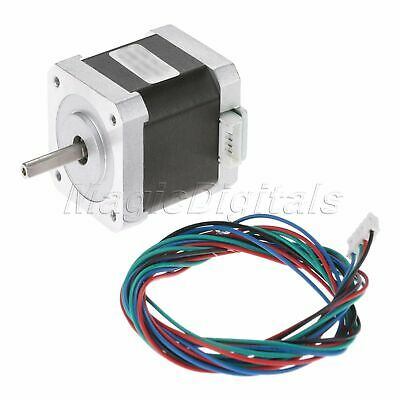 NEMA17 0.9° Degree 2-Phase 4-Wire 34mm Bipolar Stepper Motor For 3D Printer 3